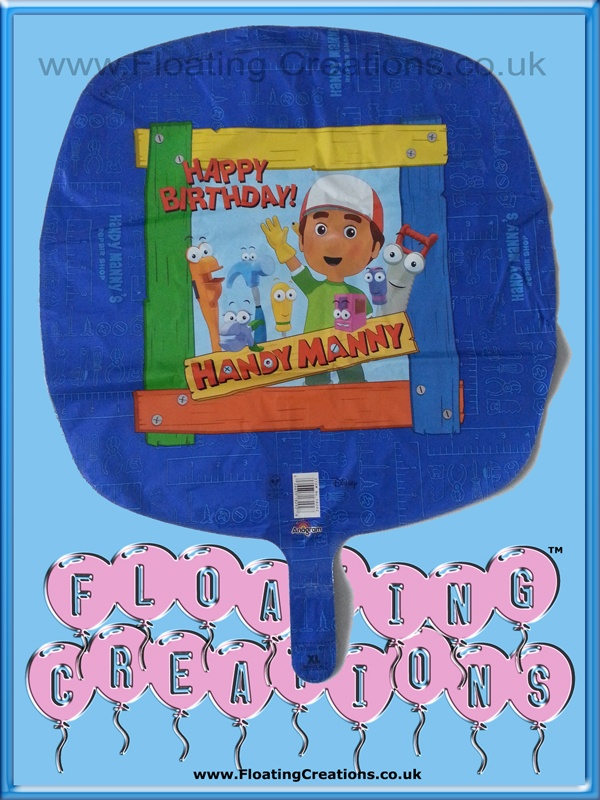 Handy Manny Happy Birthday Balloon https://www.facebook.com/balloonsglasgow