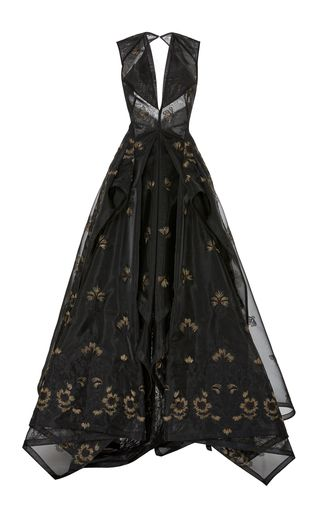 Zac Posen Black Gown