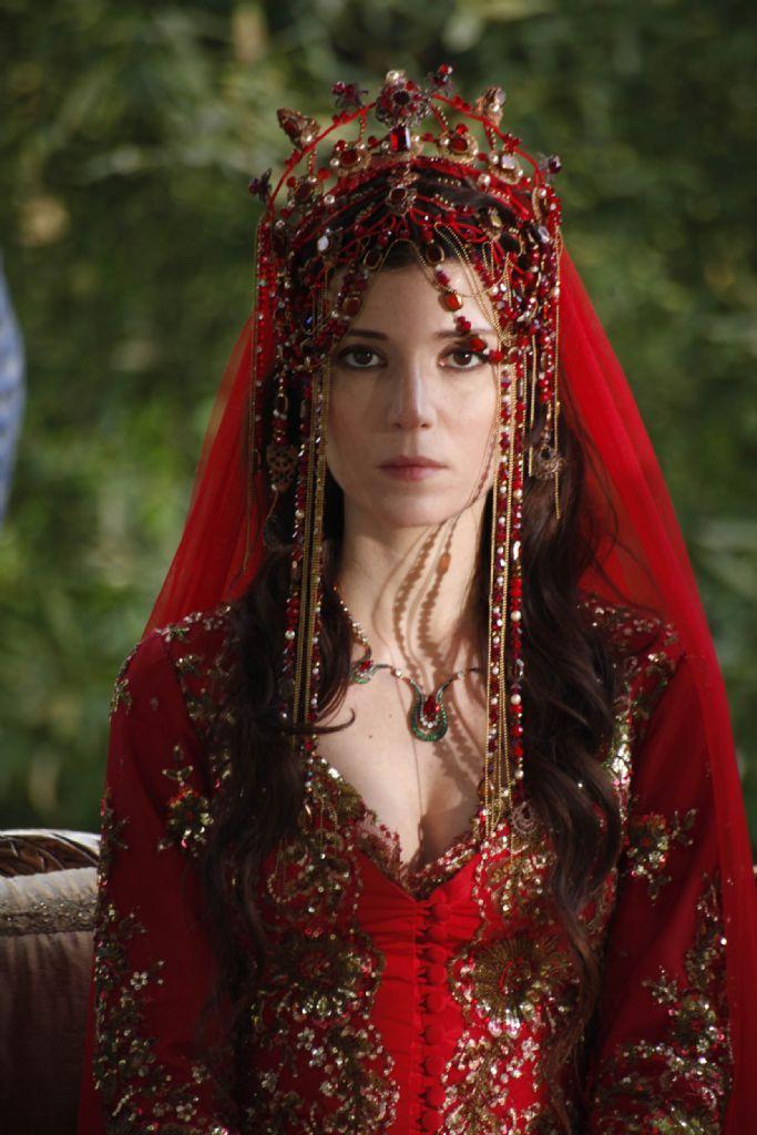 From the Turkish series, Muhteşem Yüzyıl. Hatice Sultan's wedding dress.