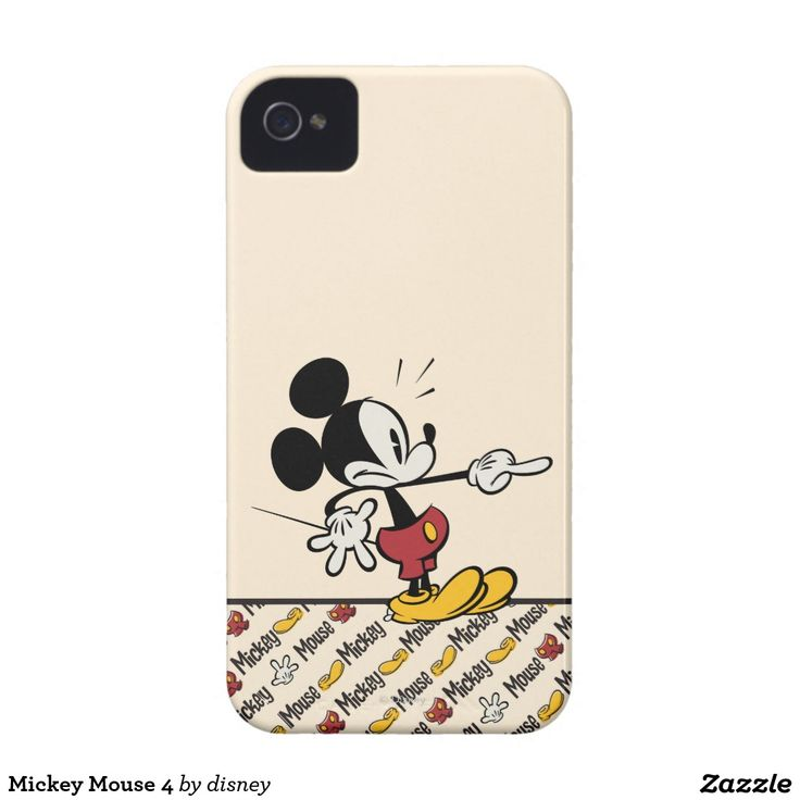 Mickey Mouse 4 iPhone 4 Case-Mate Cases