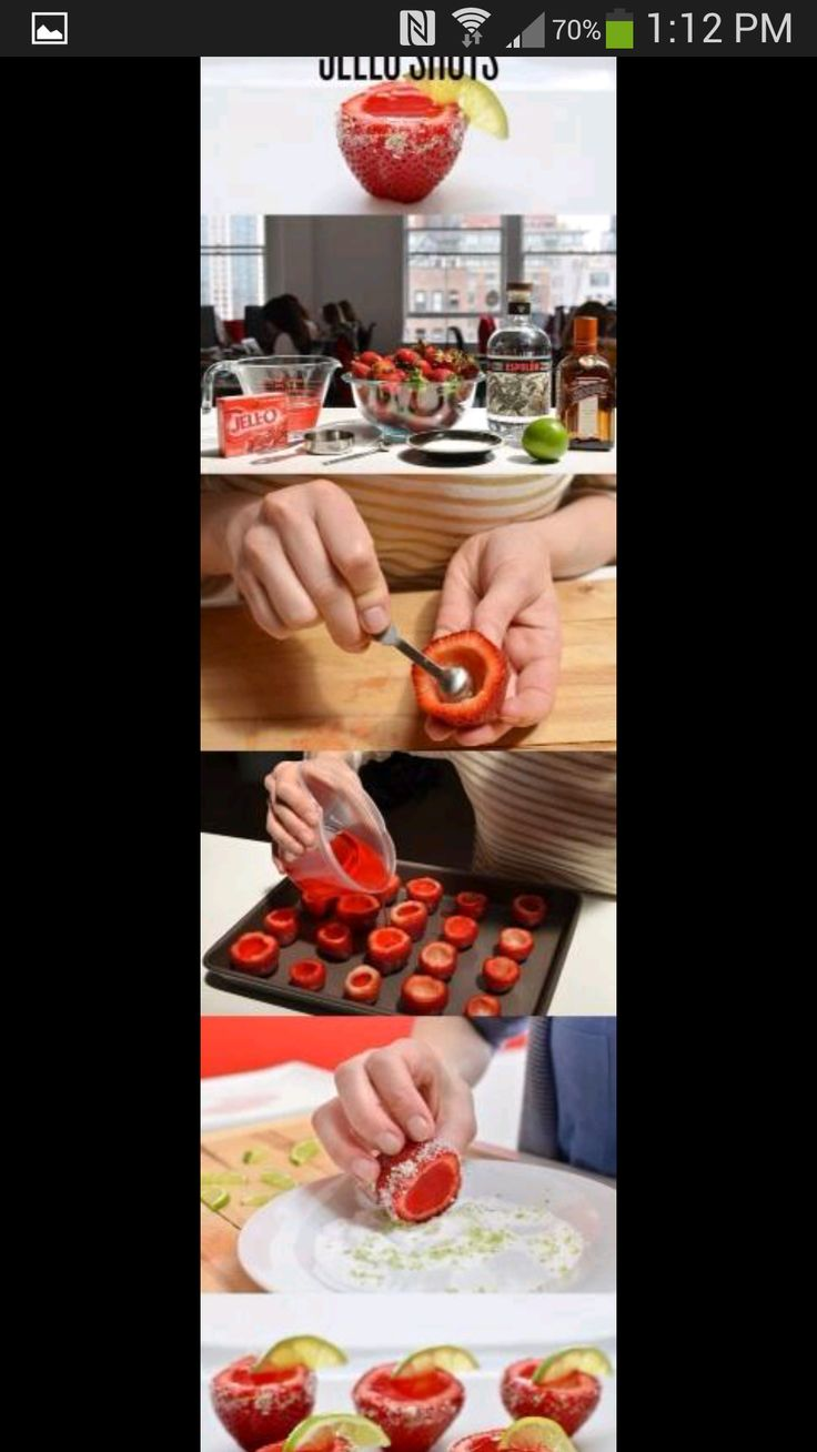 Taking jello shots to a whole new level