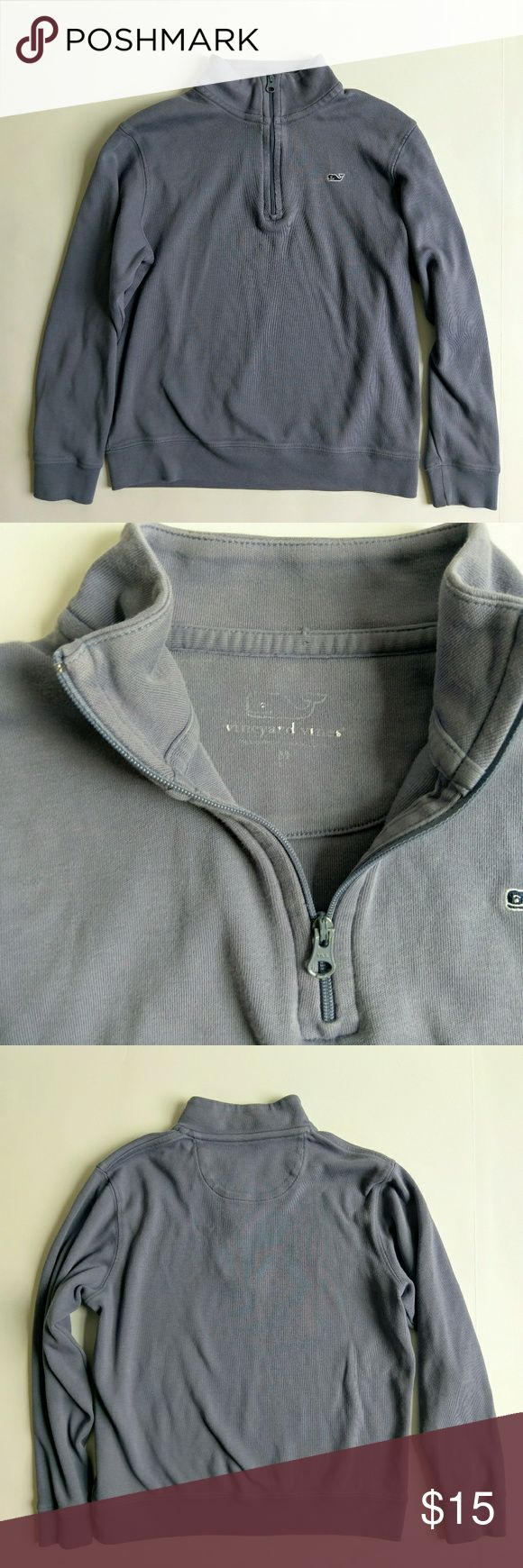 Vineyard Vines boys pullover sweatshirt In great condition and great quality   Good for fall layering   All reasonable offers considered! Vineyard Vines Shirts & Tops Sweatshirts & Hoodies