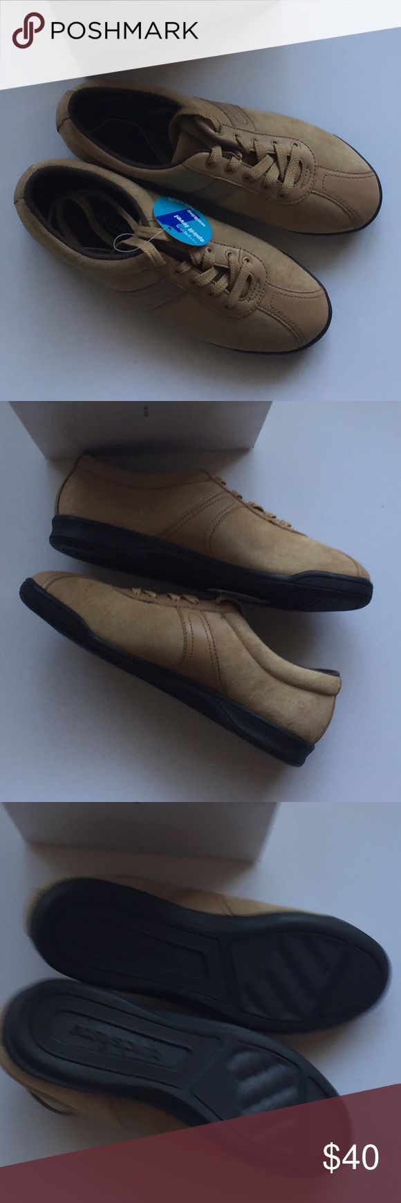 Tan colored leather, Easy Spirit shoes. New in box Easy Spirit Shoes Flats & Loafers