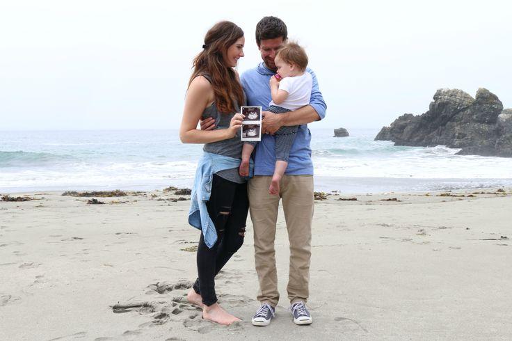 Beach baby announcement!