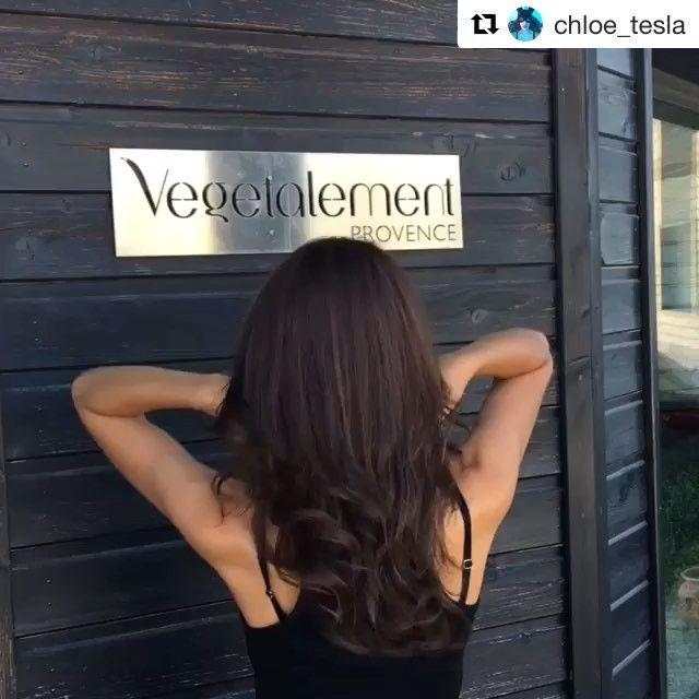 #Repost @chloe_tesla ・・・ So, how do you like my new hair ?  By Vegetalement Provence  @vegetalement #vegetalementprovence #cosmetiquevegetale #cosmetique #provence #saintremydeprovence #southoffrance #nature #naturel #veganproducts #veganism #crueltyfree #cosmetics #vegancosmetics #veganlife #ecofriendly #france #organic #bio #wood #recycled #veganbeauty #salondecoiffure #blogueuse #frenchblogger #seashepherd  #cosmetiquevegetale