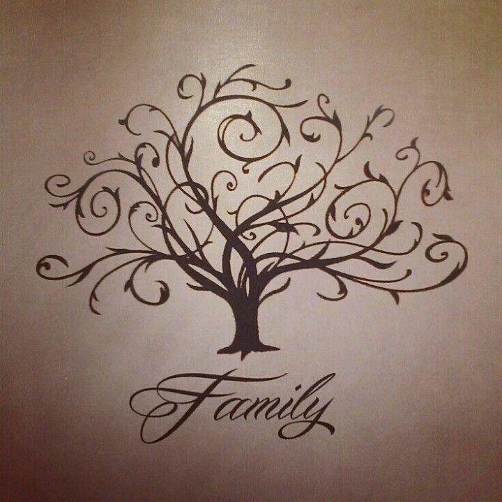 Family tree tattoo...Me gustaria con las iniciales NHHR por las ramas o algo asi