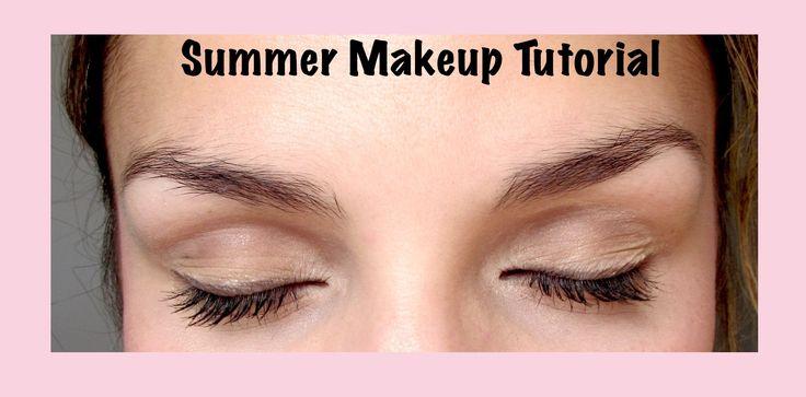 Cute and Natural Summer Makeup Tutorial