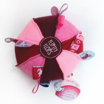 OB Designs - Flipity Flop Ball - Berry - Hugs For Kids