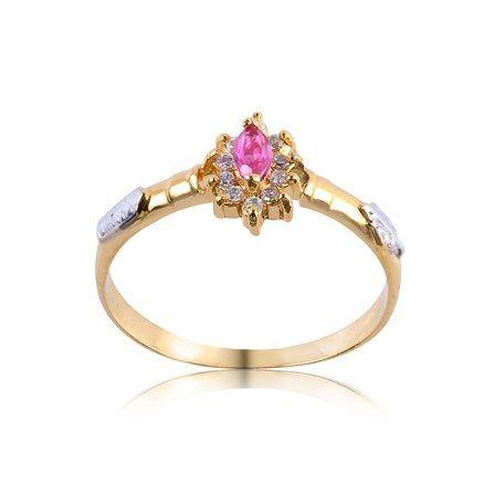 Anel de Formatura Ouro com Diamante 10 Pontos AG018