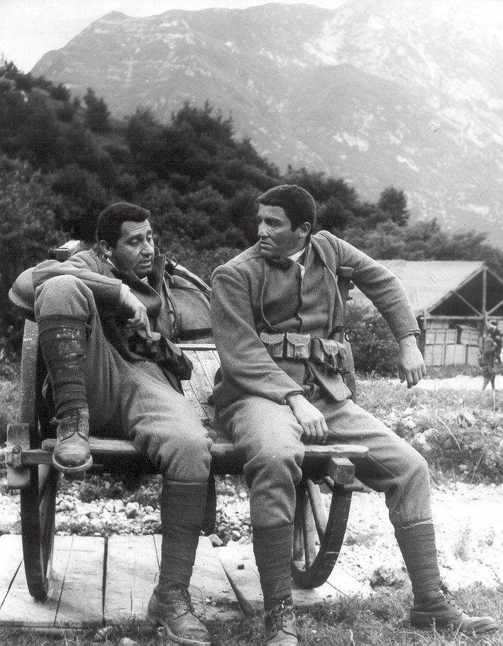 "Alberto Sordi, Vittorio Gassman - ""La grande guerra"""