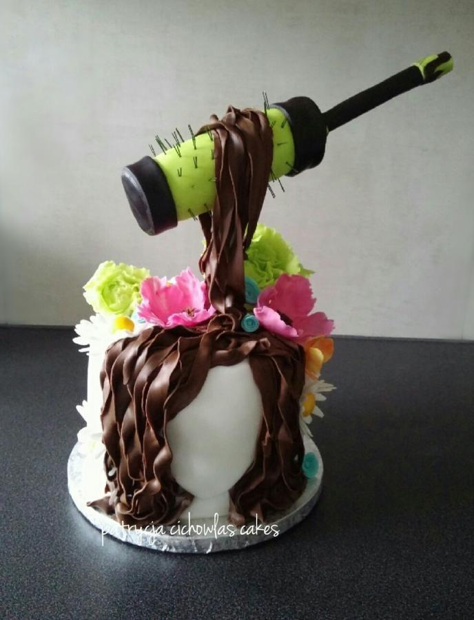 hairdresser - Cake by Hokus Pokus Cakes
