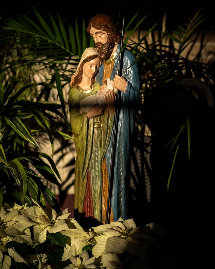 https://flic.kr/p/22TG49Q   Holy Family Statue, St. Benedict Catholic Church, Duluth 12/27/17 #christmas