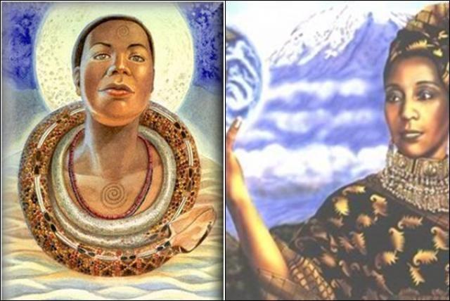 Mawu,(mitología africana)