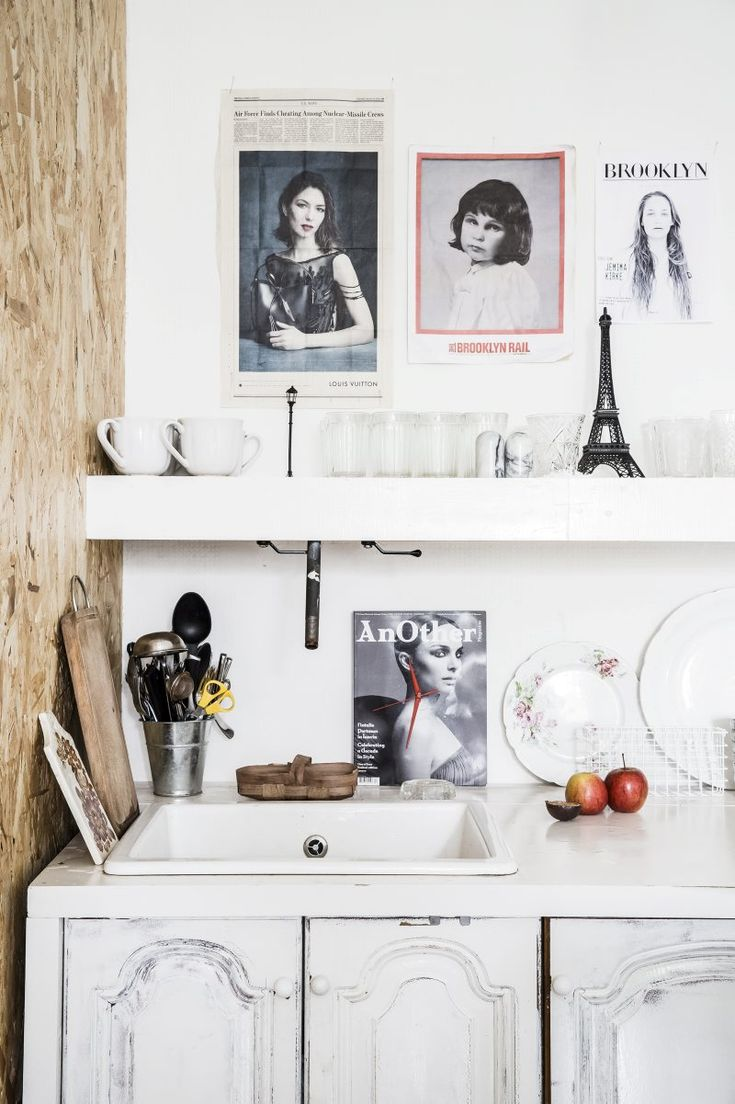 Style and Create — Lovely Moscow apartment with a Scandinavian touch by the owners of the design studio Crosby Studios   Styling by Isabelle Mcallister   Photo by Jenny Brandt, published in Residence Magazine
