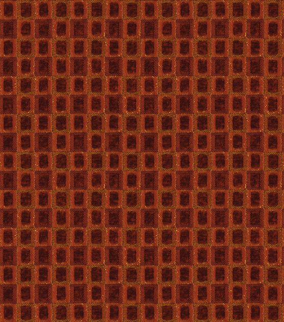 Upholstery Fabric-Christopher Lowell Euclid-Red
