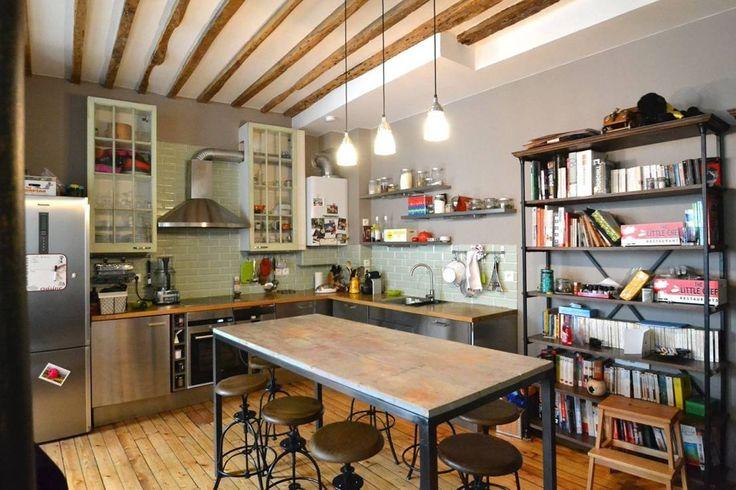 Cucina in stile industriale di Gembu Interior Design