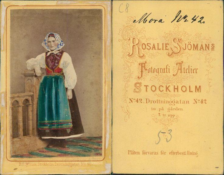 Stockholm, costume, Mora, Suède, Sweden, Sverige vintage CDV albumen carte de vi | eBay