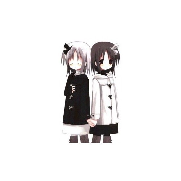 Claim anime best friends ~ - MyAnimeList.net ❤ liked on Polyvore featuring anime, anime girls, draw and pictures