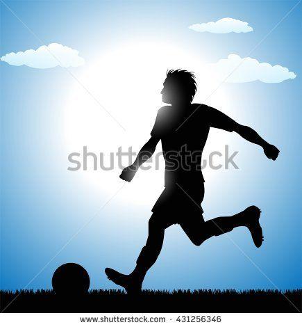 stock-vector-football-soccer-player-silhouette-431256346.jpg (435×470)
