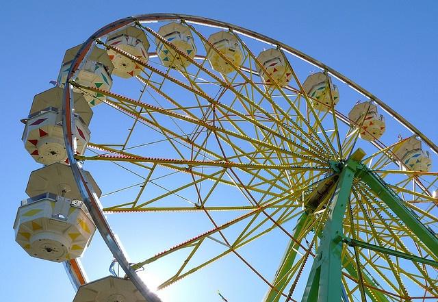 *Ferris Wheel - Marin County Fair... in California