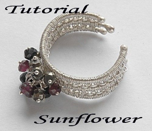 Tutorial  wirewrapped ring step by step by MadeBySunflower on Etsy, $5.00: Wire Metal Tutorials, Tutorial Wirewrapped, Wire Wrapped Rings, Wirewrapped Ring, Tutorial Wire Wrapped, Ring Ideas, Ring Step