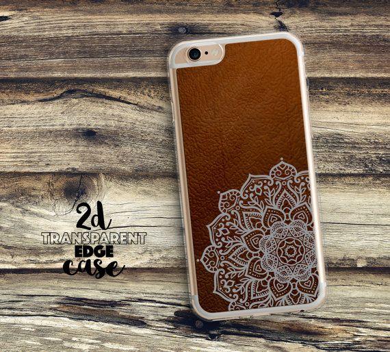 iPhone 7 leather case iPhone 5s Case indian mandala iphone