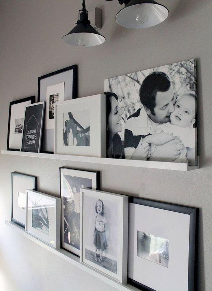 55+ Marvelous Gallery Wall Living Room Ideas | Living Room ...