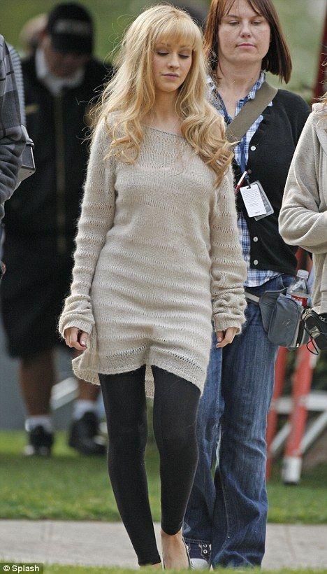 "Christina Aguilera as Ali Rose in ""Burlesque"" (2010)"