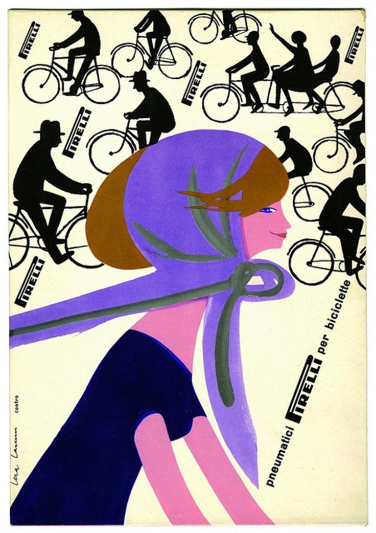 """""""Pirelli Pneumatici Per Biciclette"""" by Lora Lamm."""