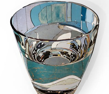 TITLE: Glaswater, vintage recycled wood ARTIST: Diederick Kraaijeveld
