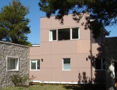 #Superboard #fachadas #ConstrucciónEnseco #placas de #cemento con resistencia mecánica, al agua y a la humedad.