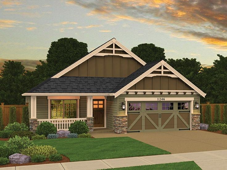 Eplans Craftsman Style House Plan Delightful Inside And