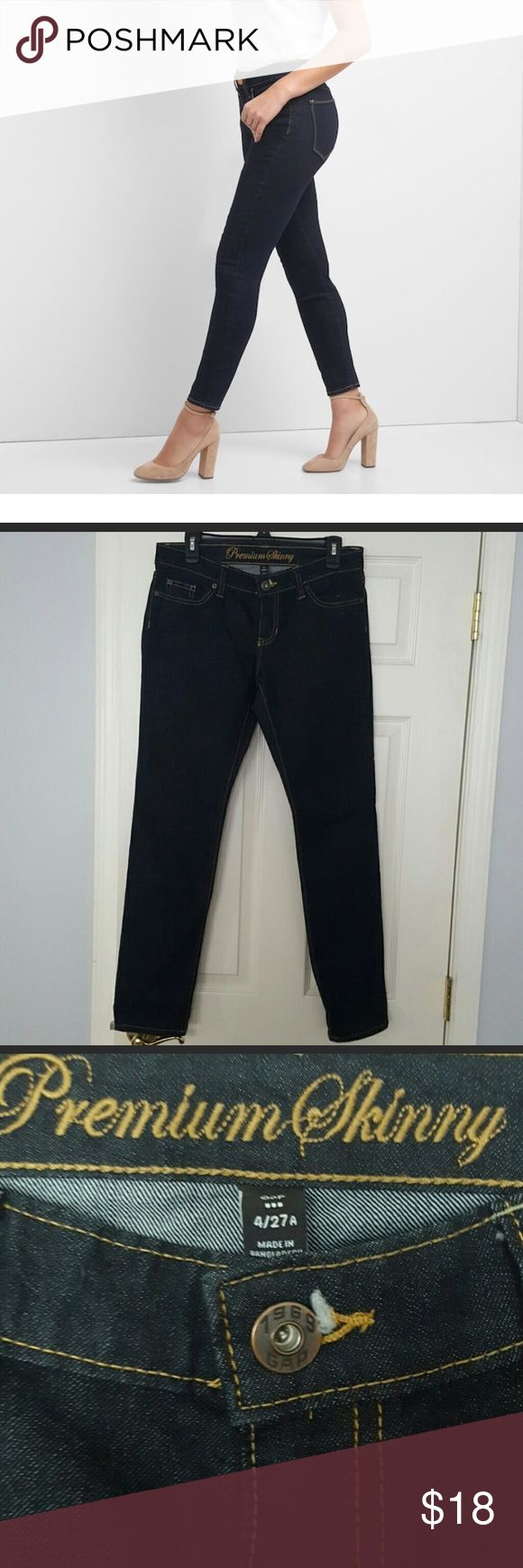 "Gap premium denim skinny ankle length jeans Excellent condition - free from signs of wear. Ankle length. 30"" inseam GAP Jeans Ankle & Cropped"