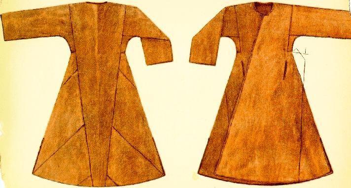 viking coat | caftan/viking coat - works 4 early/north Rus as well. Not sure where ...