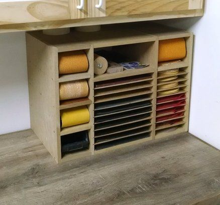 Sandpaper Storage Box