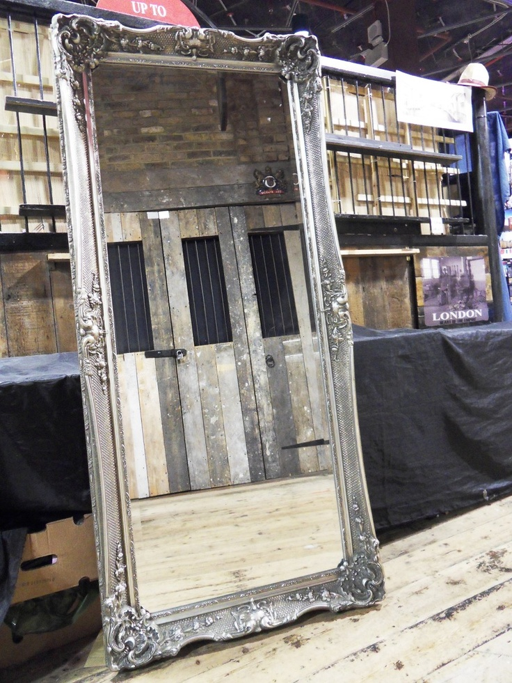The Dorchester full-length mirror in silver - 170x79cm. www.phillipjonezmirrors.com/USERIMAGES/SDC10189.JPG