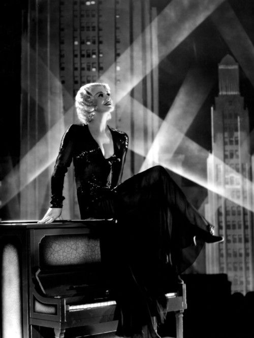 "Ginger Rogers in ""Gold Diggers of 1933"". This number (""I've Got To Sing A Torch Song"") ended up cut out of the movie."