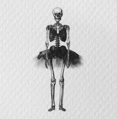 different pose, maybe add a tutu to my dancing lady skeletons?