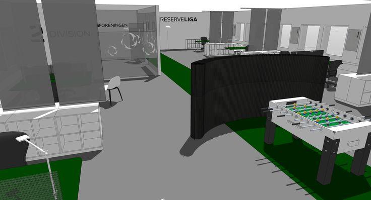 Divisionsforeningen interior design, decor, indretning, office design, kontor indretning