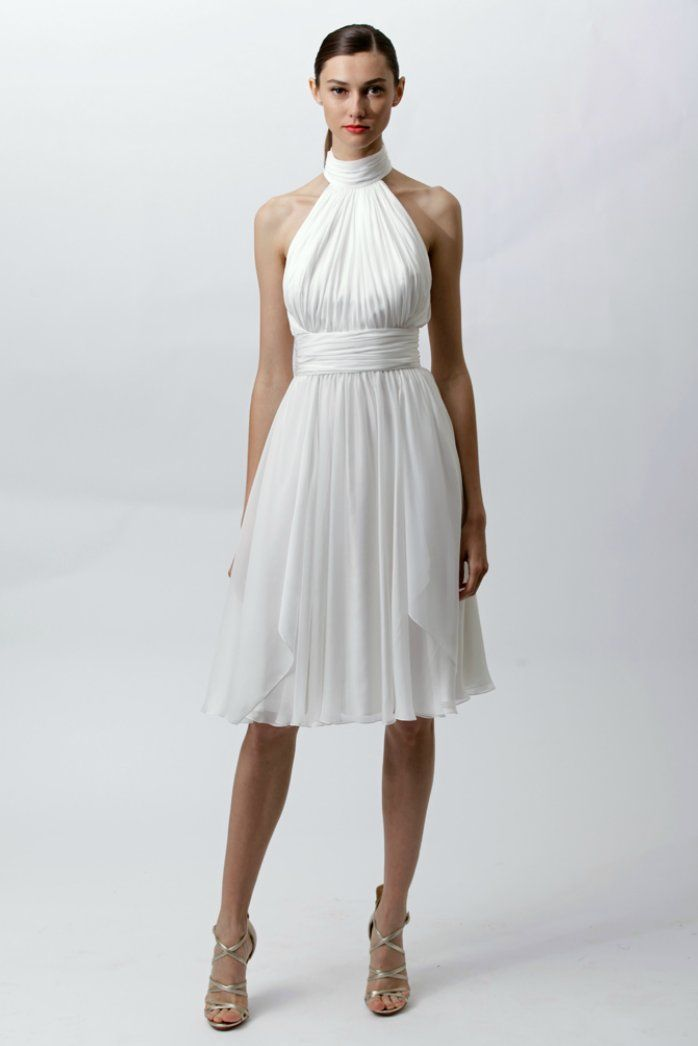 Vintage Inspired Wedding Reception Dress By Badgley Mischka