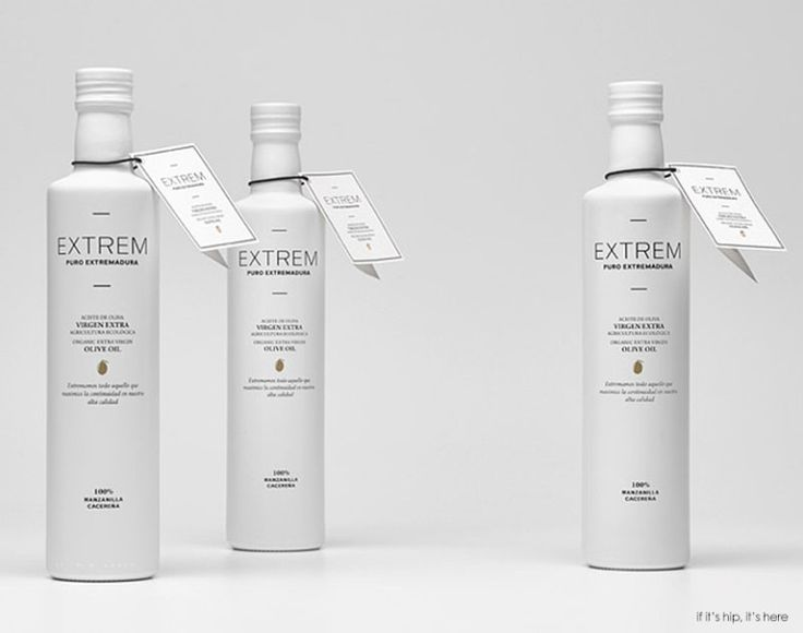 Olive Oil, Extrem Puro Extremadura Packaging.