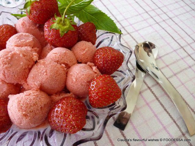 Strawberry Banana Limoncello Ice Cream   Dangerously Delicious Desser ...