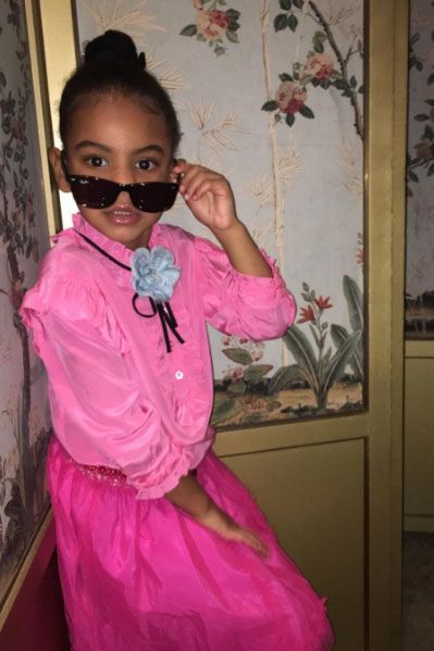 Beyoncé And Jay Z's Adorable Family Album - Blue Ivy Does Her Own Insta-Edits from InStyle.com