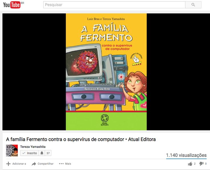 """""""A Família Fermento contra o supervírus de computador."""" Editora Saraiva Atual https://youtu.be/EjGgCGHSwyU"""