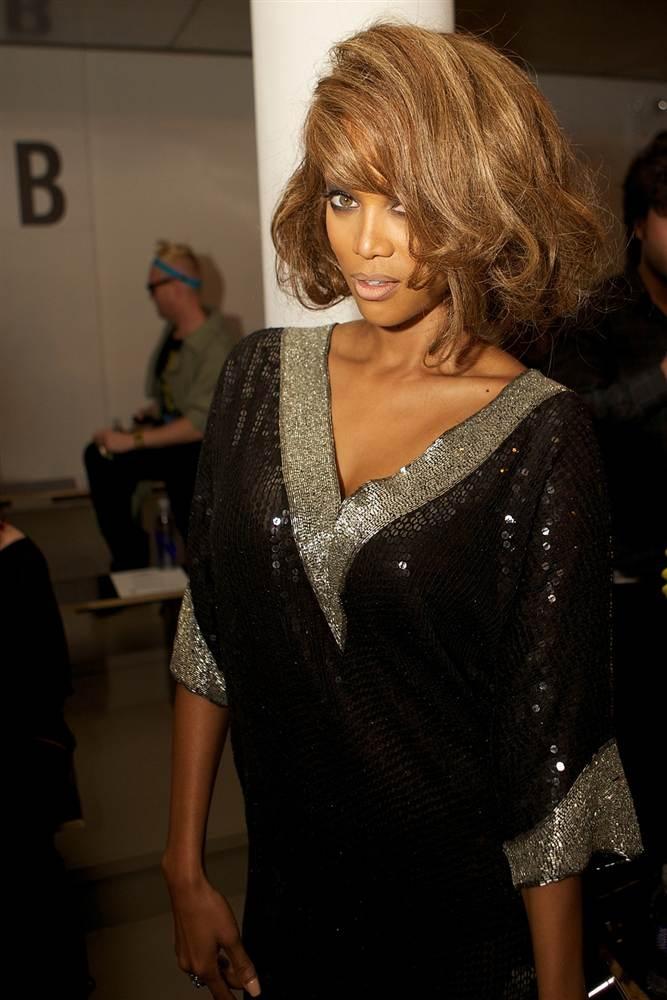 Tyra Banks Love, love, love the hair here!
