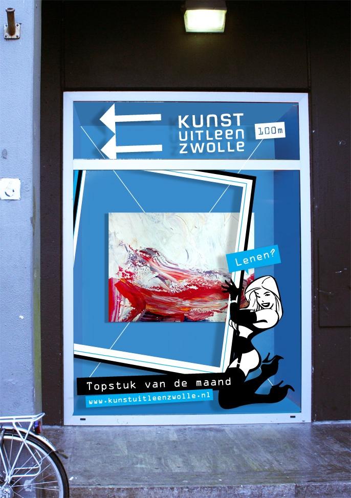 campagne Kunstuitleen Zwolle - Topstuk