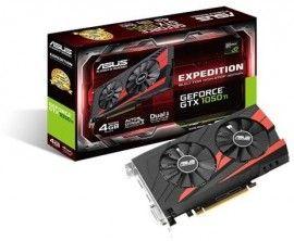 Asus PCIe NVIDIA GTX 1050 Ti 4GB GDDR5 EX-GTX1050TI-O4G
