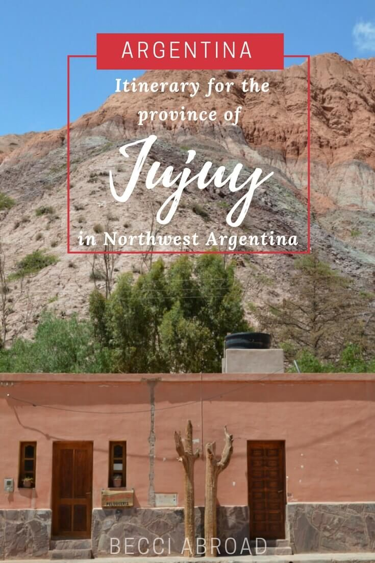 A one-week Itinerary to the Northwestern part of Argentina – Jujuy, Purmamarma, Tilcara and Humahuaca  #Argentina #Purmamarca #Jujuy #Tilcara #Humahuaca #NorthArgentina #NorthwestArgentina #SouthAmerica #travel #travelblogger #traveltips