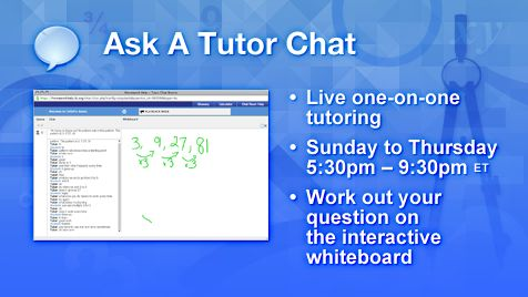 Homework Help - Free online math tutoring for students!