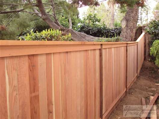 Fence With Cap House Ideas Pinterest 1950 Style